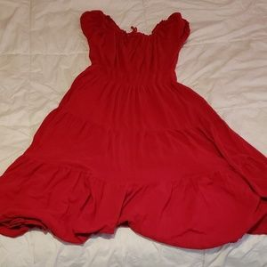 Dresses & Skirts - Size 16 red maxi dress